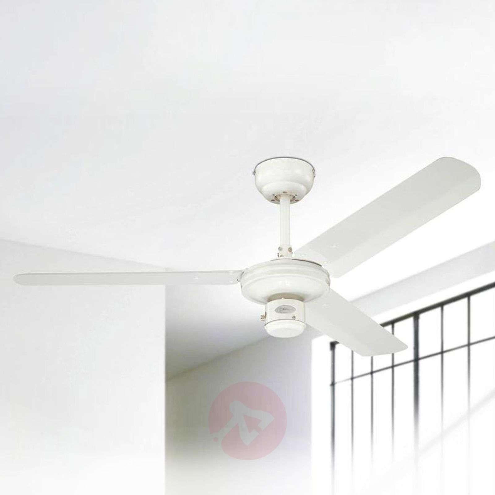 White industrial ceiling fan-9602050-02