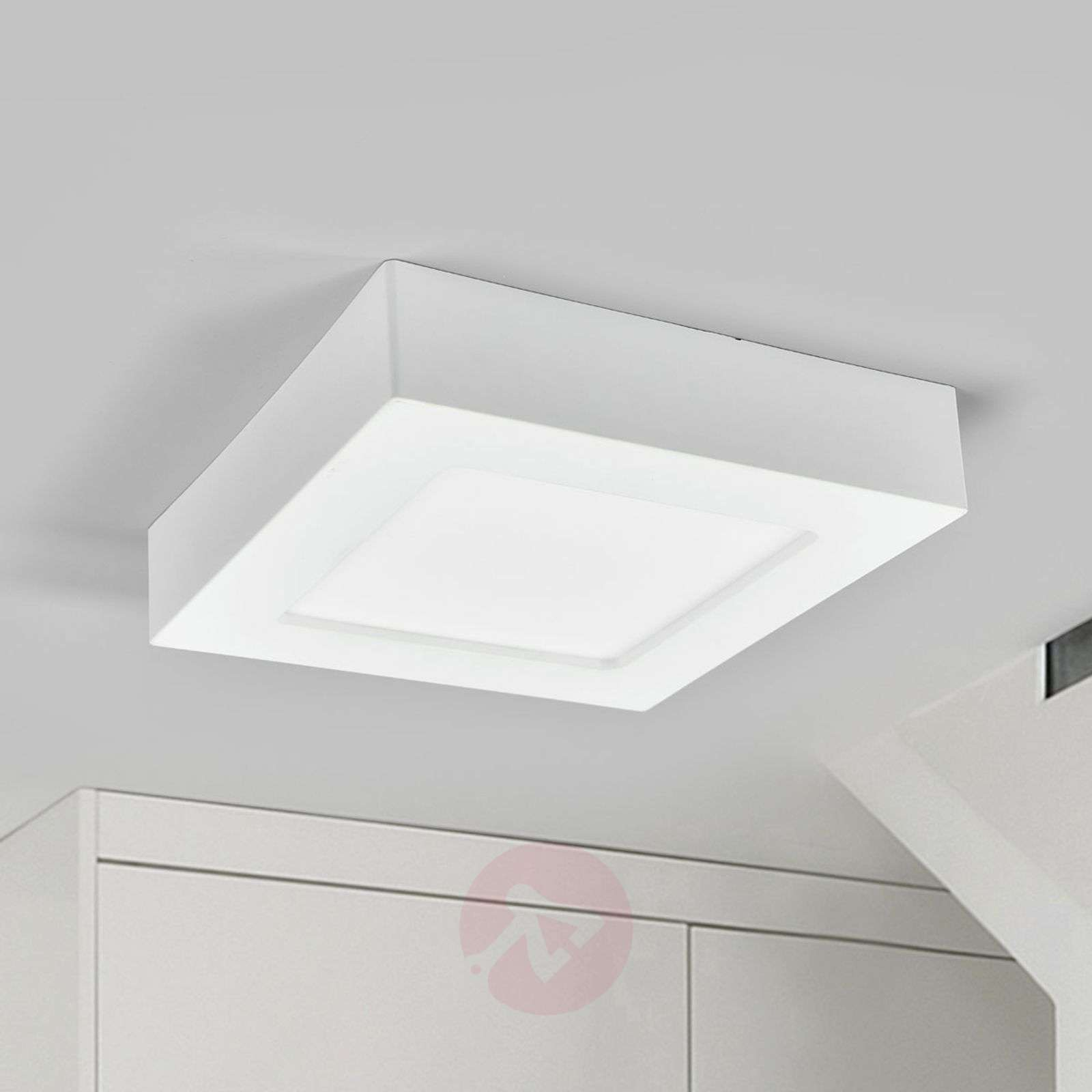 White led bathroom ceiling light marlo ip44 lights white led bathroom ceiling light marlo ip44 9978067 02 aloadofball Image collections