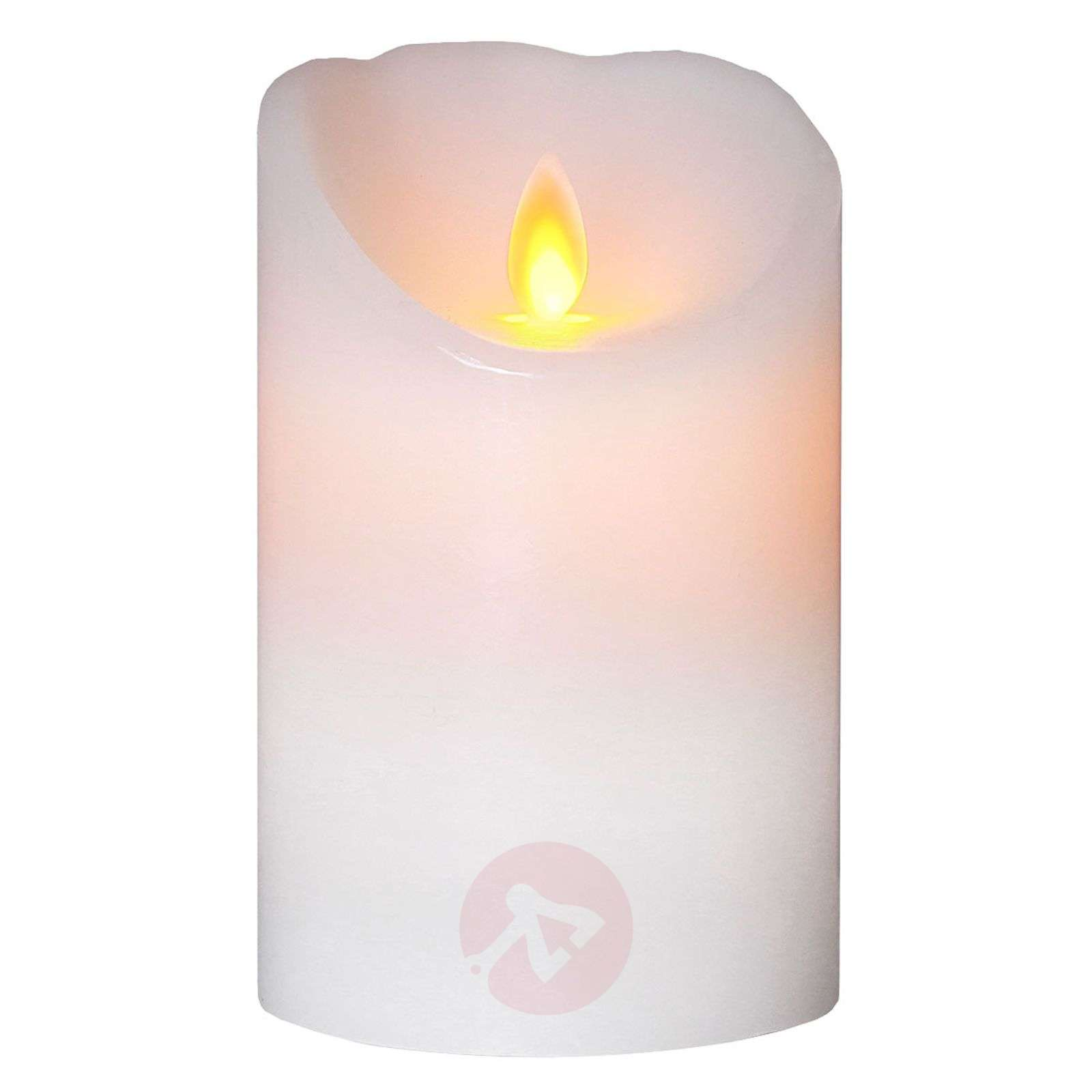 White LED candle Glim w. flickering light-1522804-01