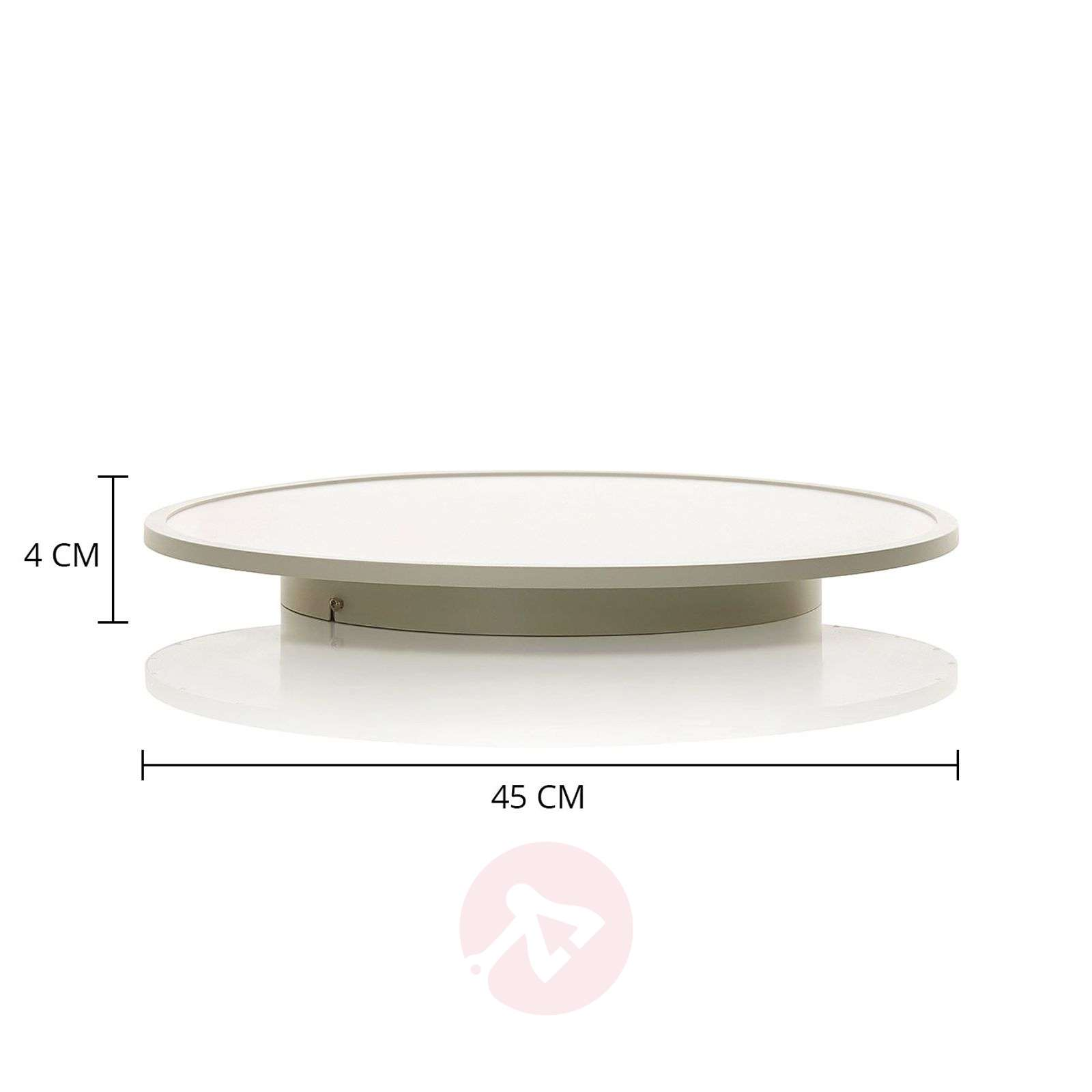 White LED ceiling lamp Ceres with dimming function-1509145-03