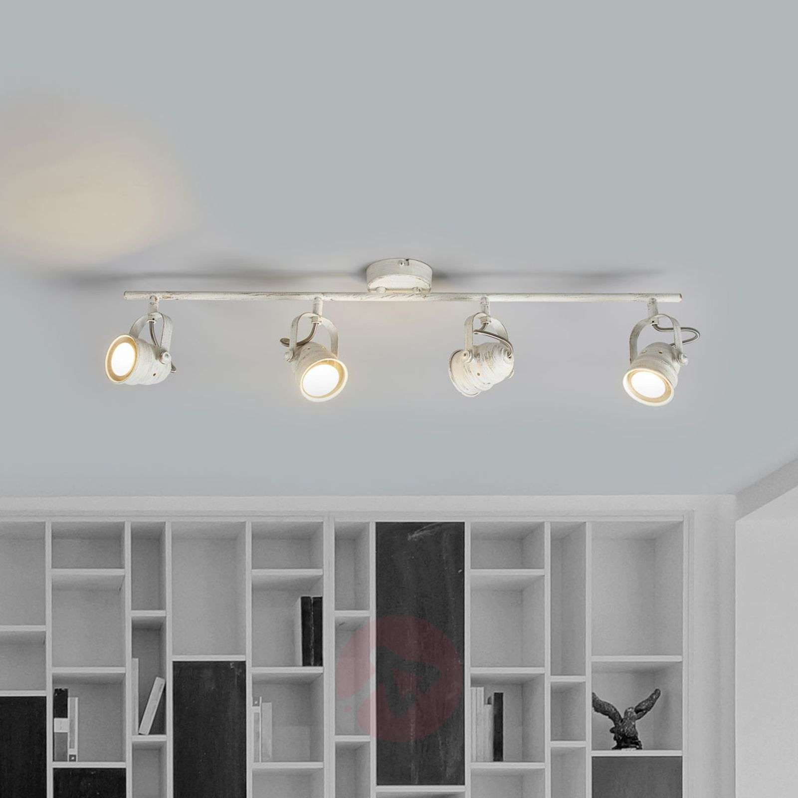 White LED ceiling light Leonor, GU10-9639065-01