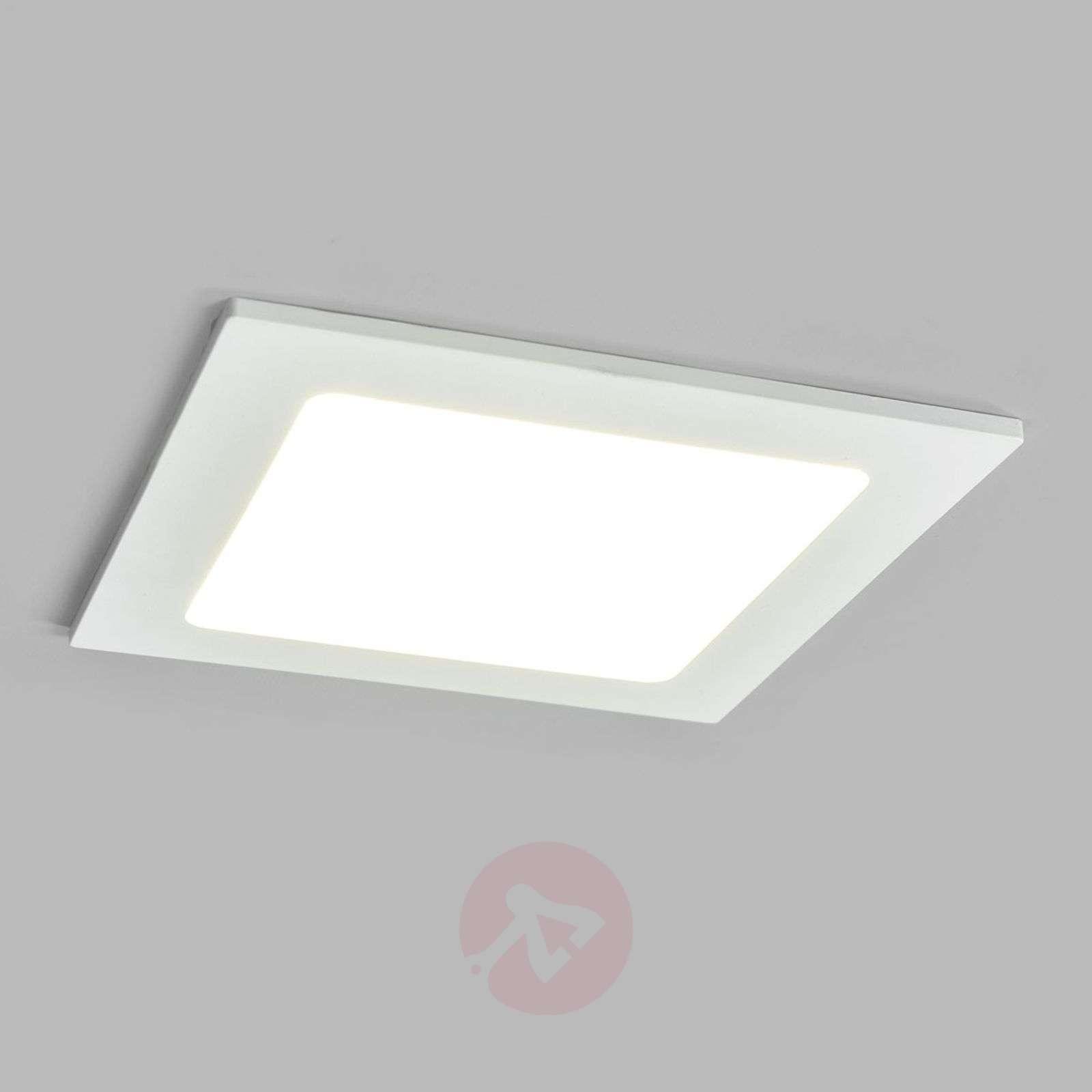 White LED recessed light Joki for damp rooms-9978061-02