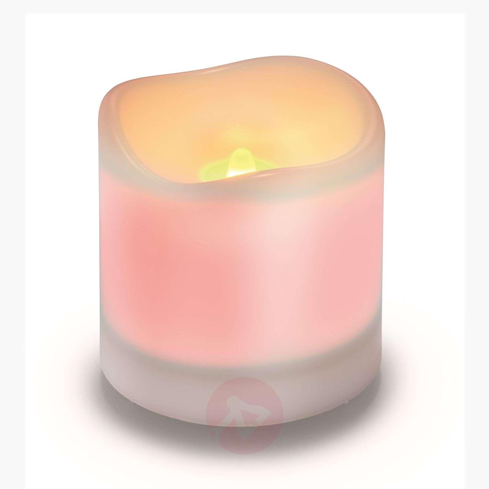 White LED solar candle Candle Light-3012228-01