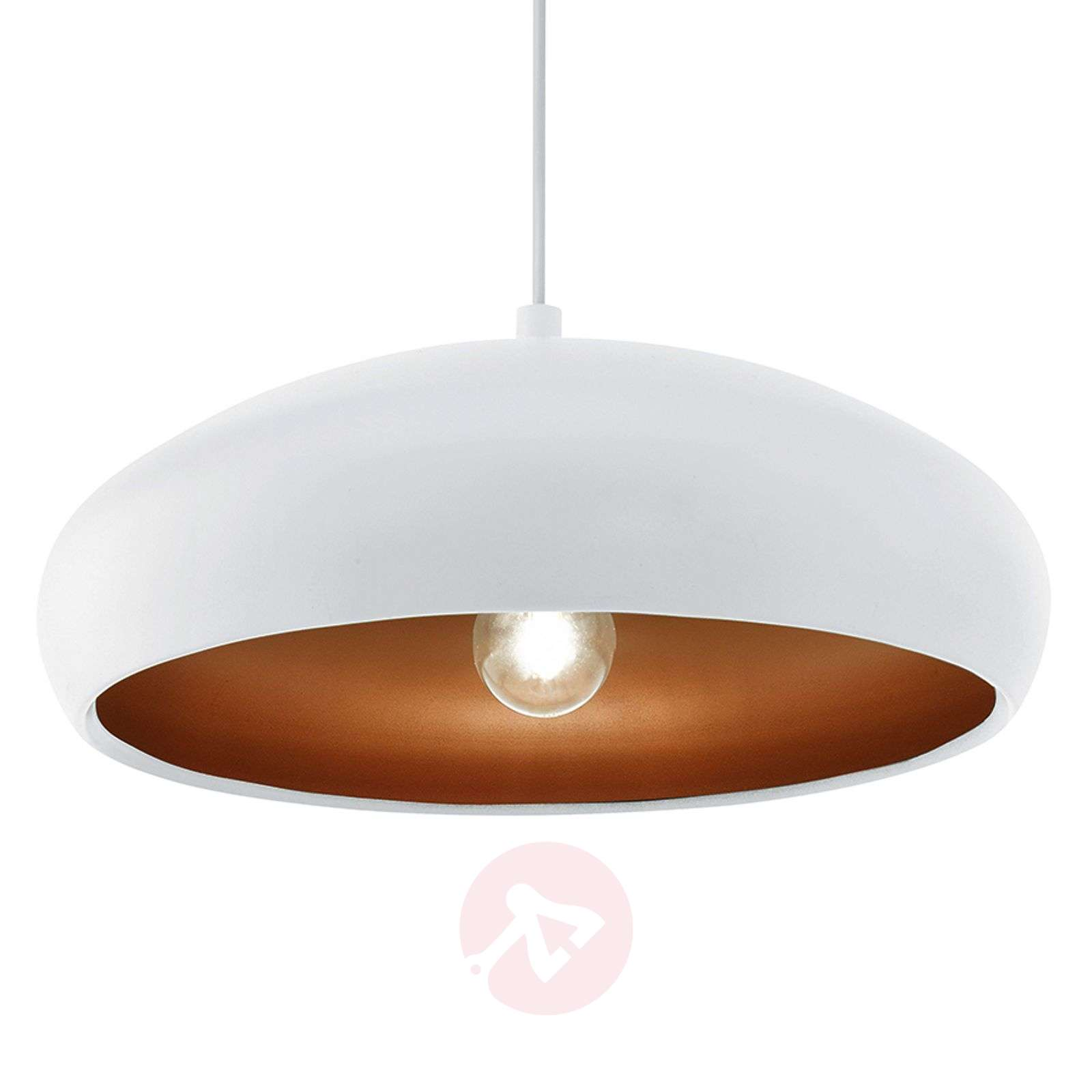White pendant light Mogano-3031945-01