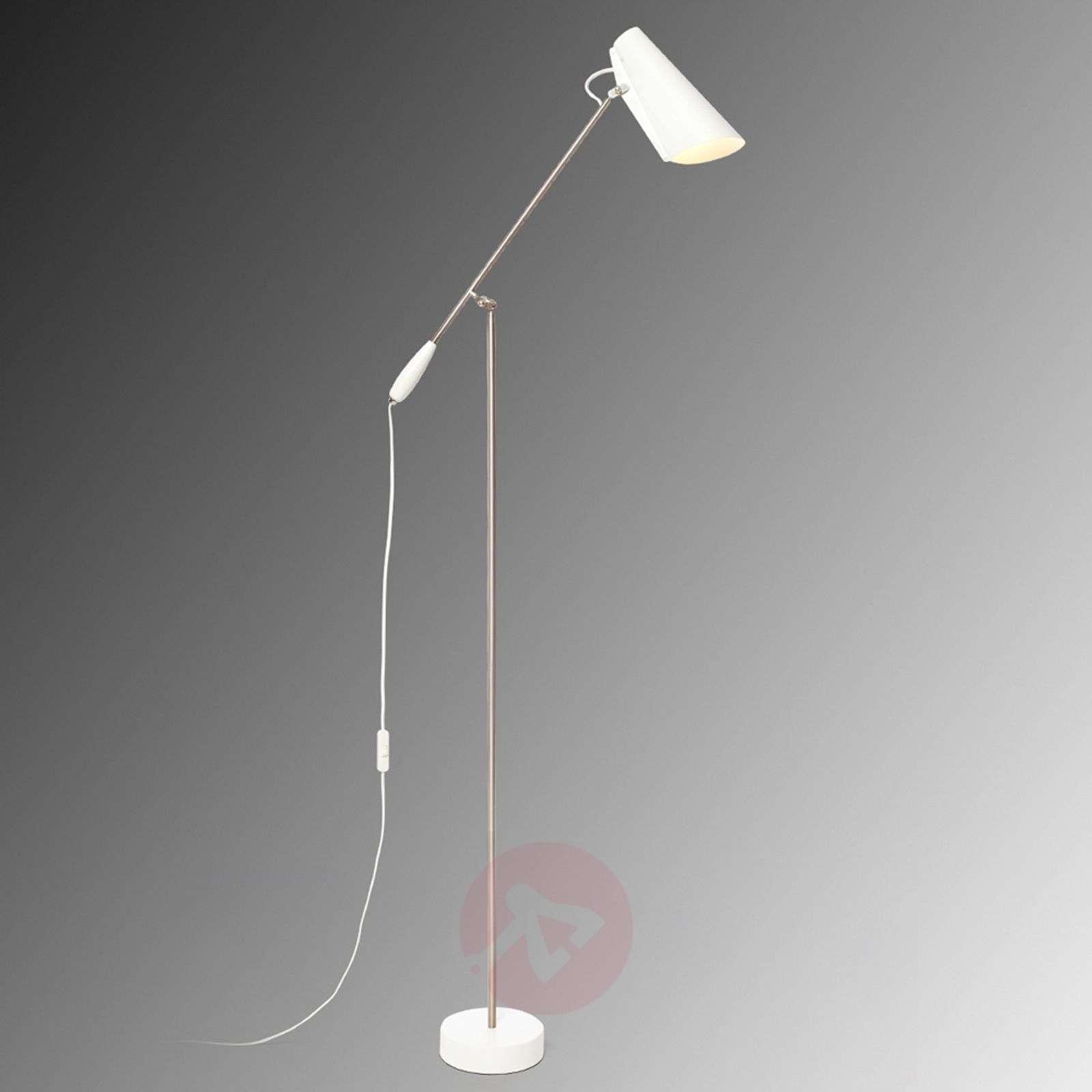 White retro floor lamp Birdy-7013050-01