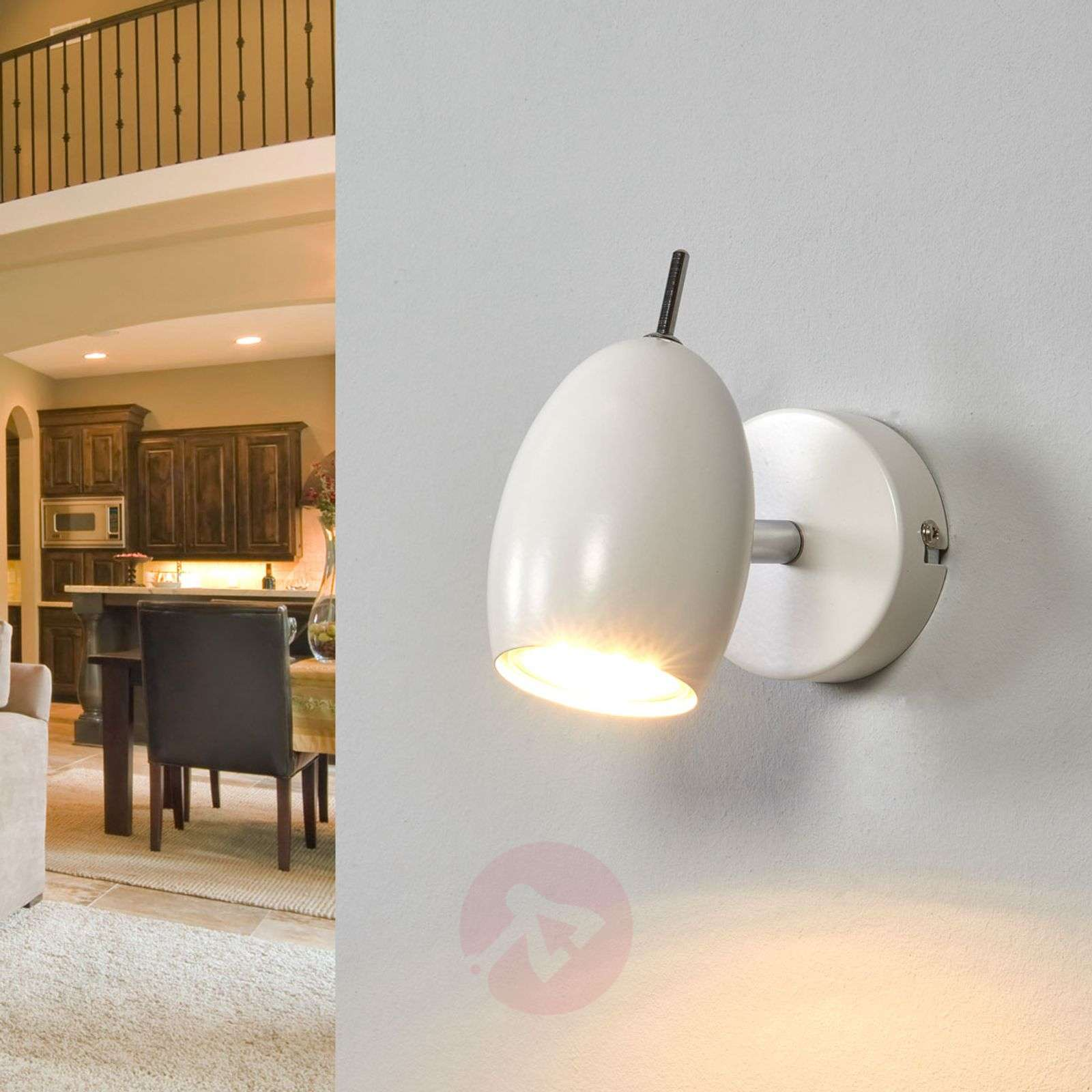 White spotlight Philippa with GU10 LED-9970143-02
