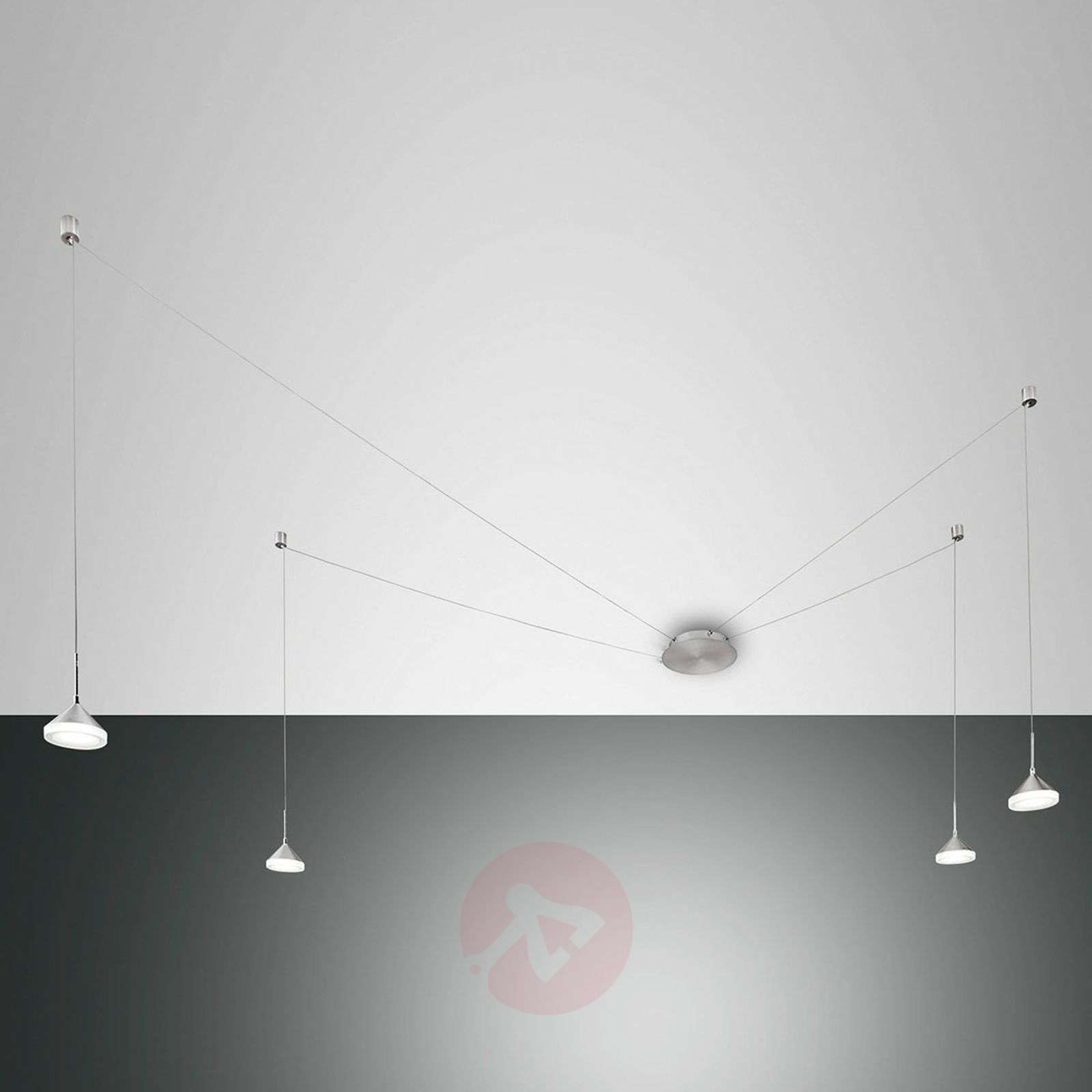 With 8 cable slots Isabella LED pendant lamp-3502632-06