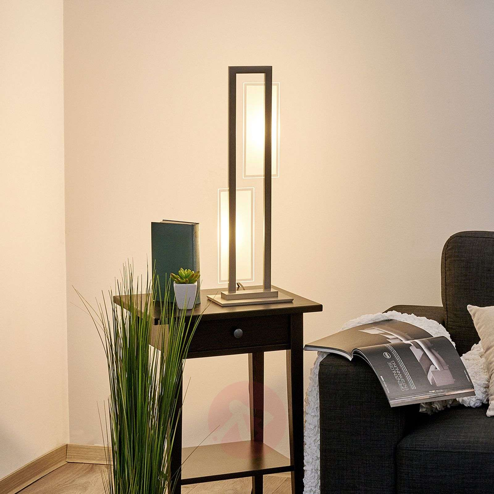 With a built-in dimmer LED table lamp Nele-6722041-01