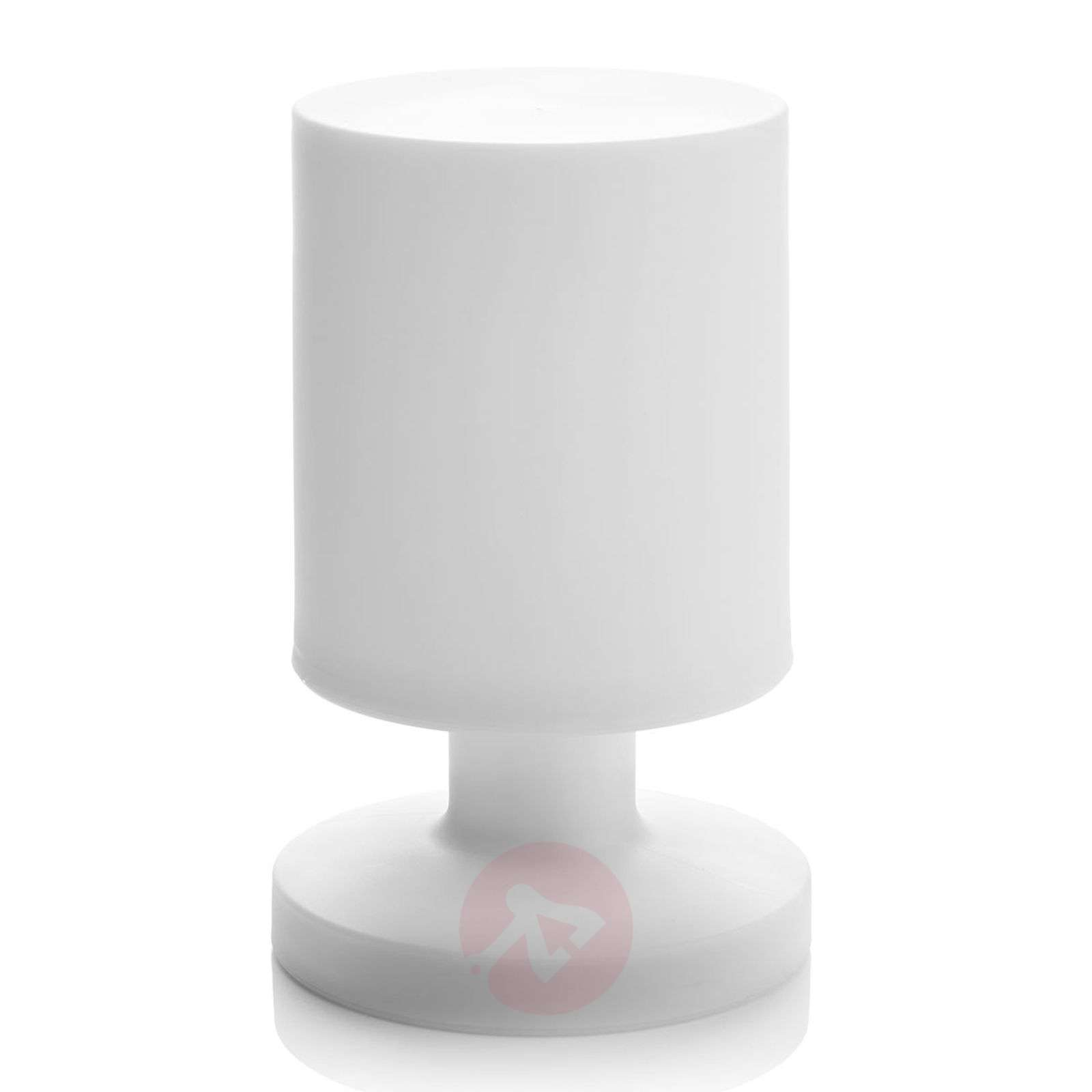With battery LED table lamp Lora in white-8029184-02