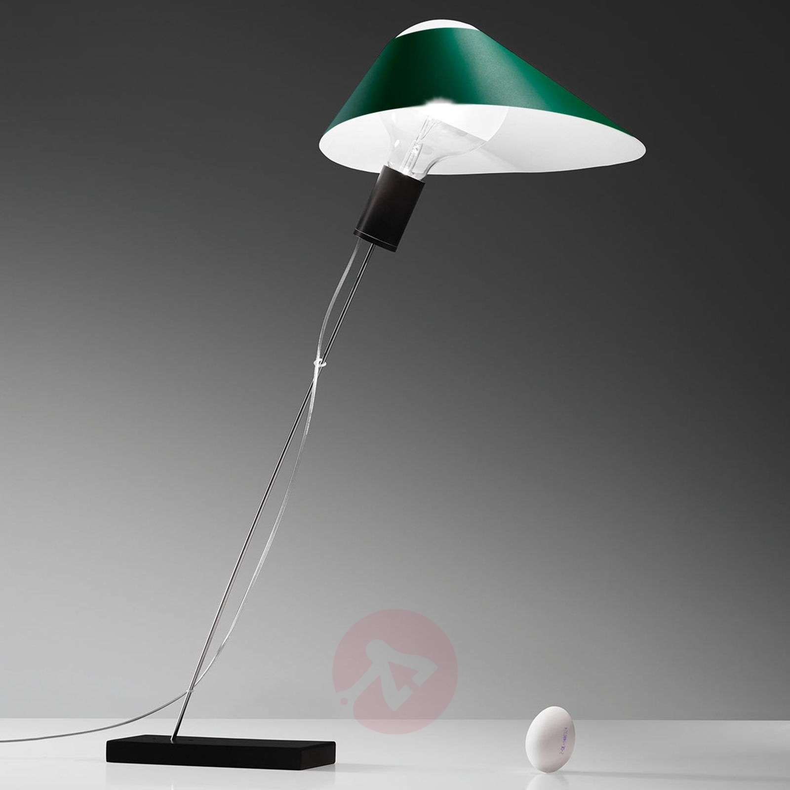 With cardboard lampshade LED table lamp Glatzkopf-5026118X-01