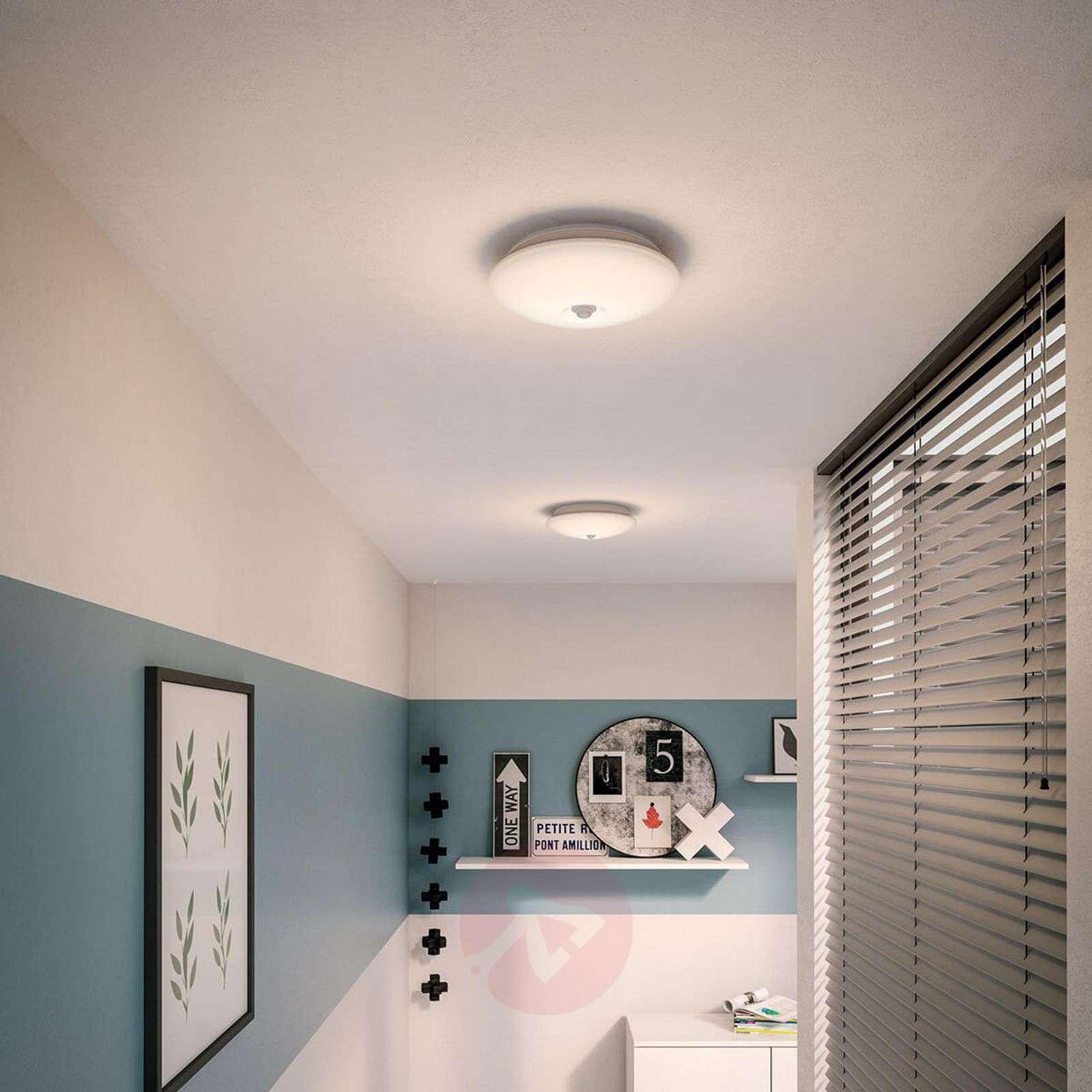With IR sensor LED ceiling lamp Mauve 25.4 cm-7531983-01