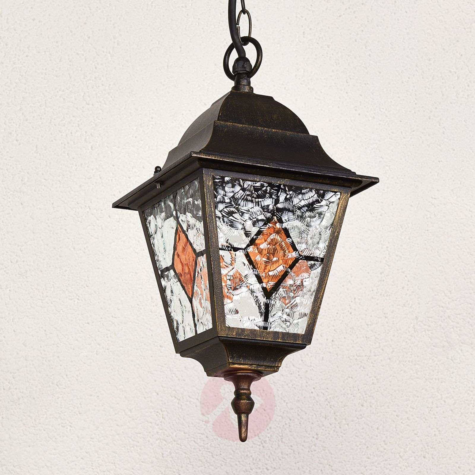 ... With Lead Glass The Outdoor Hanging Light Jason 1507258 01 ...