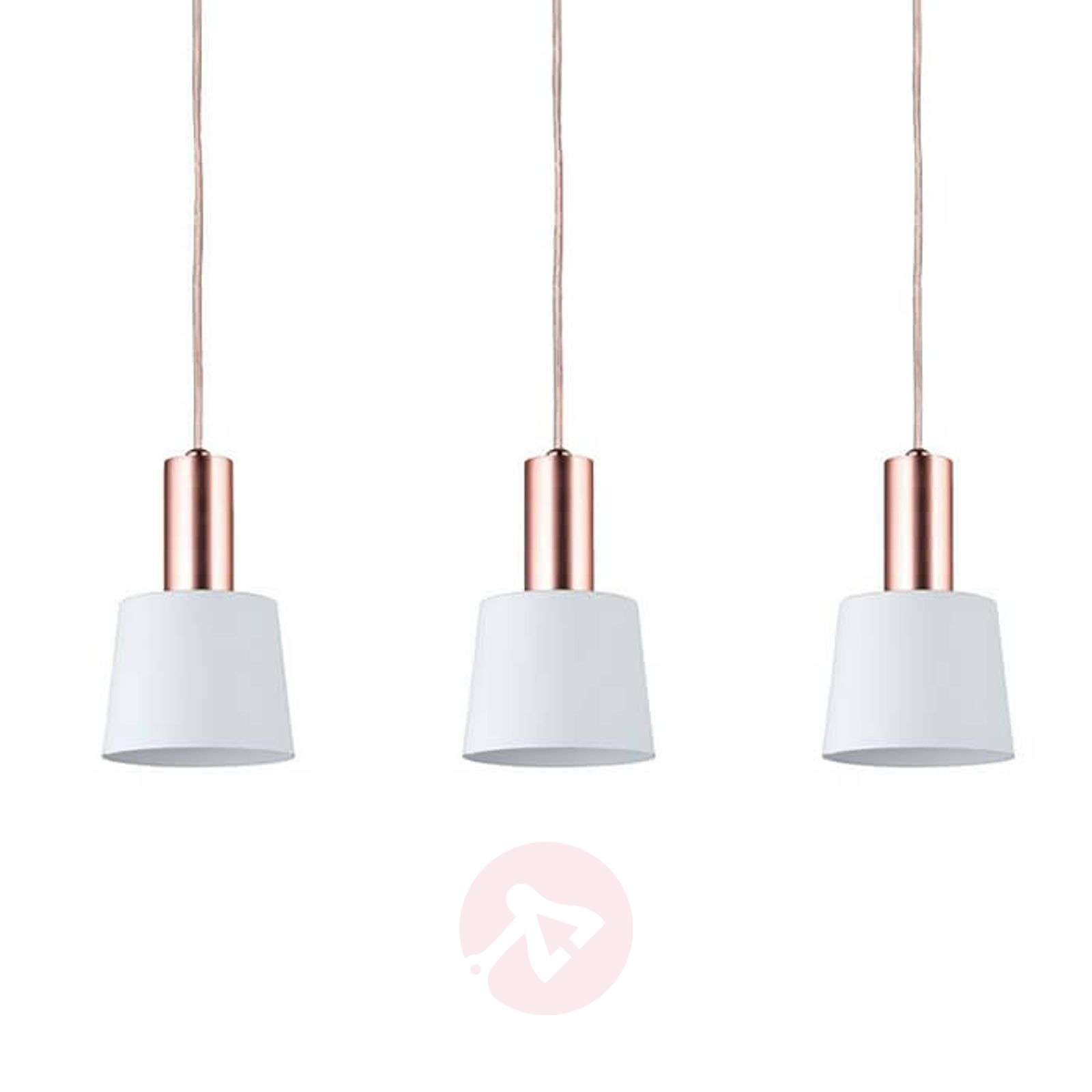 Wonderful three-bulb hanging light Haldar-7601045-01