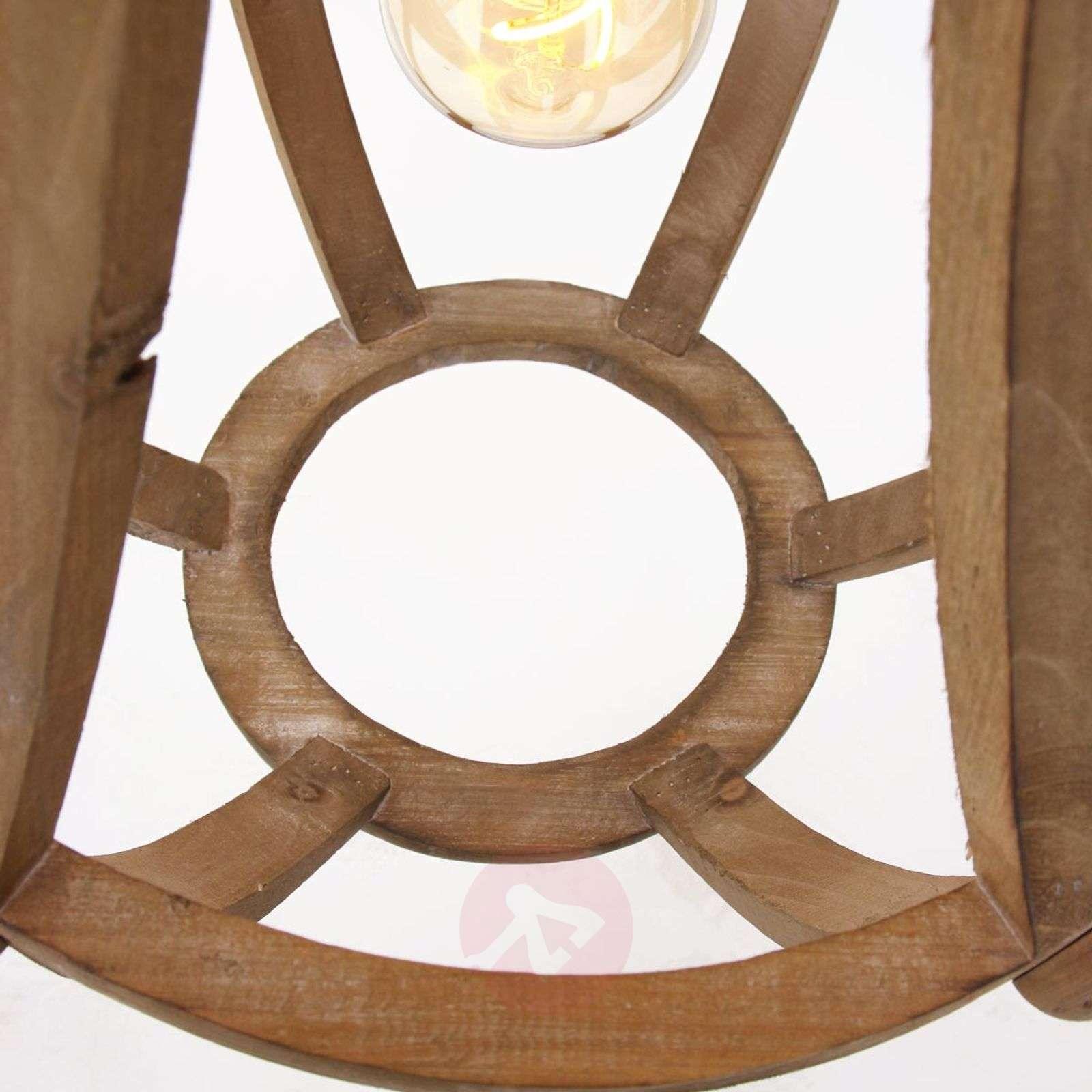 Wooden pendant light Liberty Bell-8509776-01