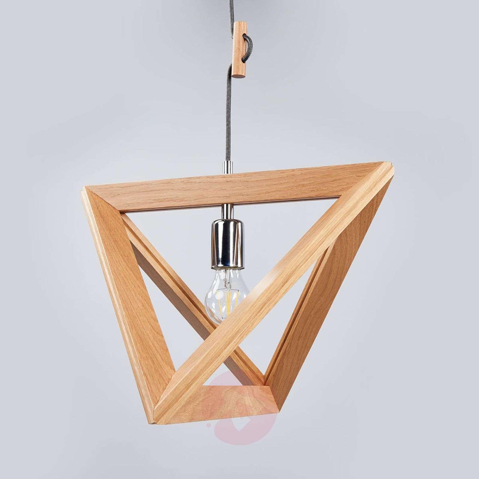 Wooden Trigonon pendant light-8574256-01