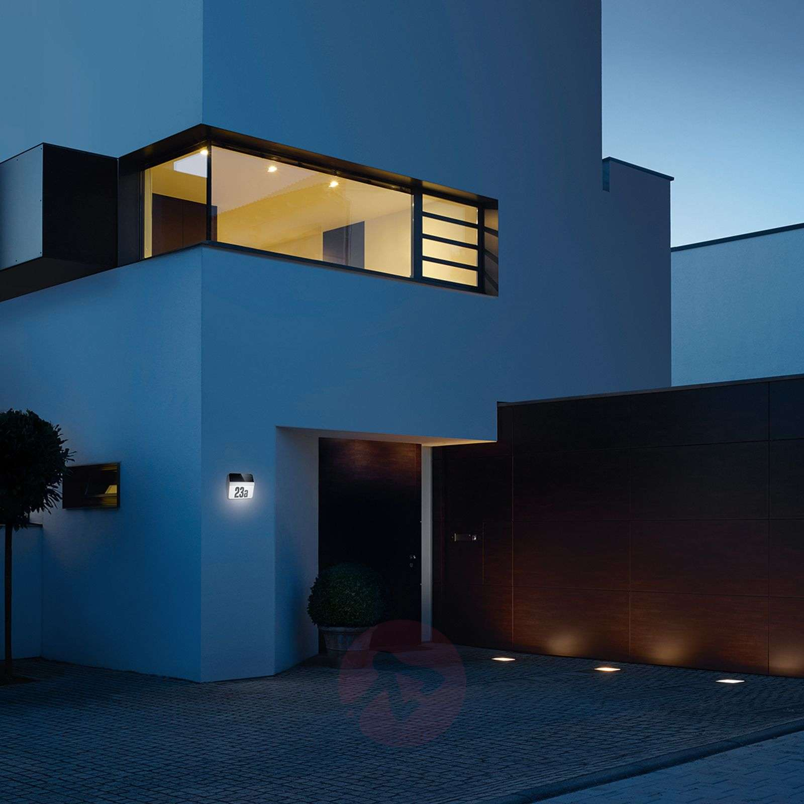 XSolar LH-N LED house number light stainless steel-8505646-01