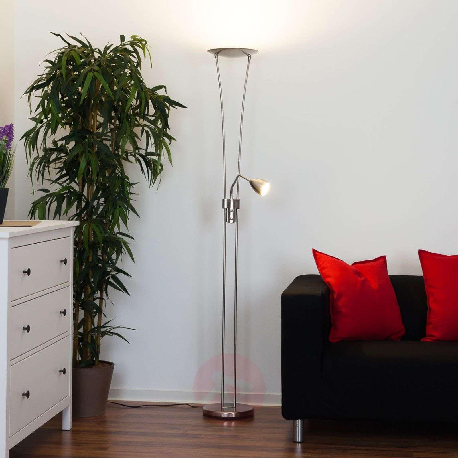 Yohann LED uplighter, matt nickel-9620070-01