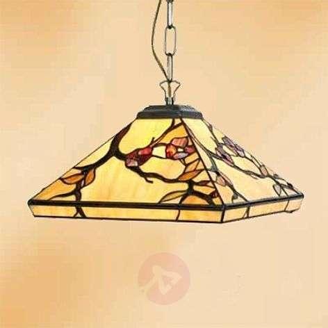 1-bulb ornate hanging light Juliett, Tiffany style-1032285-31