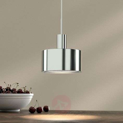 1-bulb pendant light AX20, chrome plated