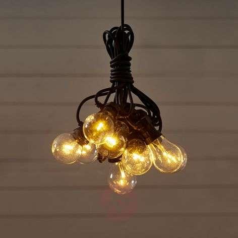 10-bulb LED string lights Circus, clear