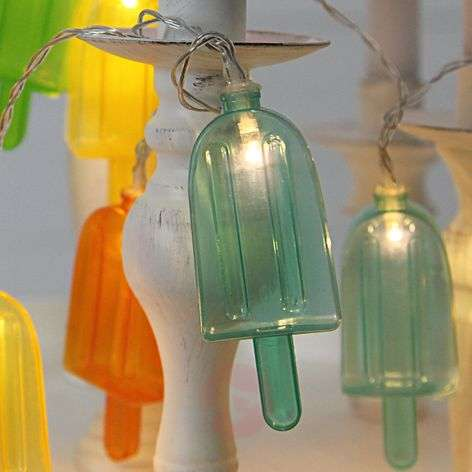 10-bulb party string lights Ice Lolly, LED-1523002-31