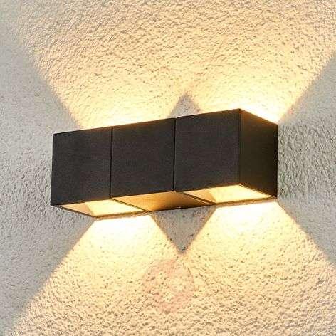 2-bulb Elian LED outdoor wall light