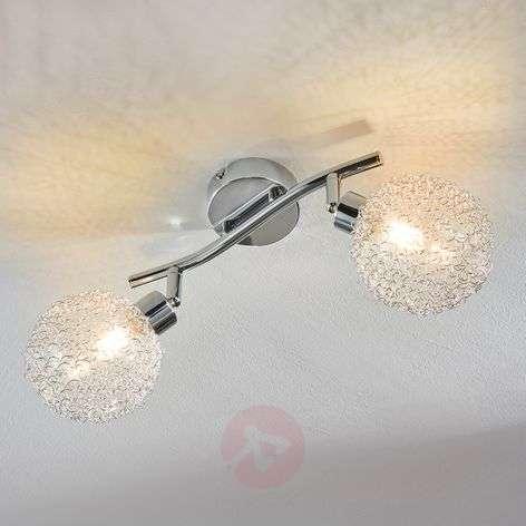 2-bulb LED ceiling lamp Ticino