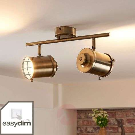 2-bulb LED spotlight Ebbi with Easydim