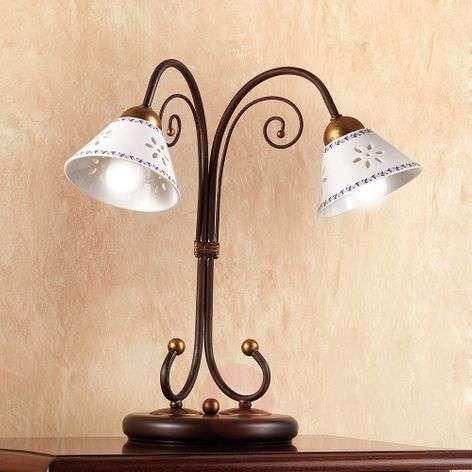 2-bulb LIBERTY table lamp