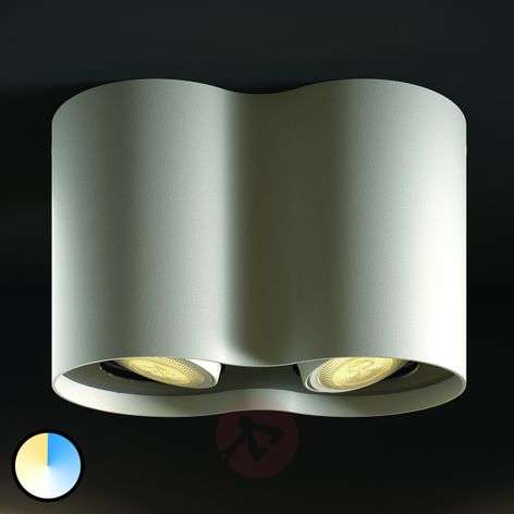 2-bulb Philips Hue LED spotlight Pillar