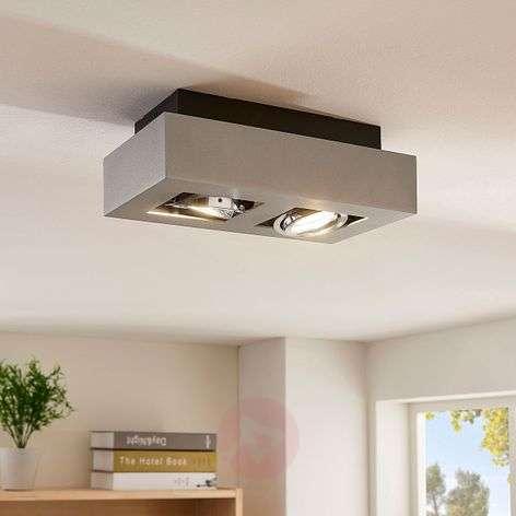 2-bulb Vince LED ceiling light-9620074-31