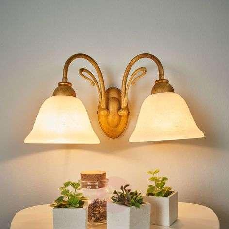 2-bulb wall light Antonio