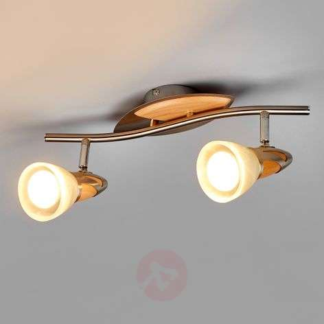2-light LED spotlight Marena, E14 R50