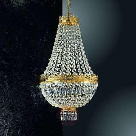 24 carat gold-plated hanging light Cupola