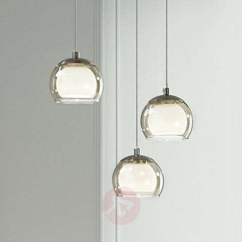3-bulb Ascolese LED hanging light