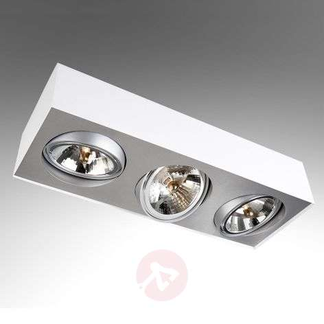 3-bulb ceiling spotlight Bloq