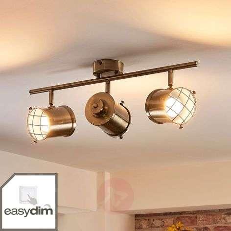 3-bulb Easydim ceiling lamp Ebbi with LEDs