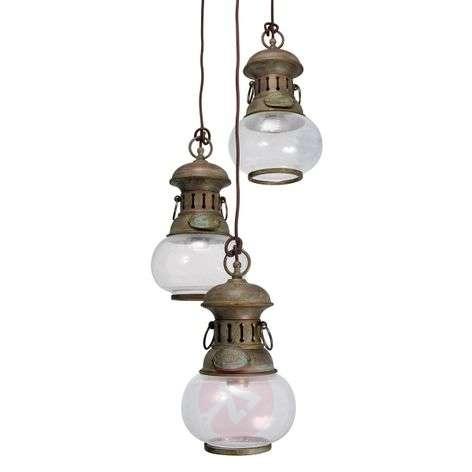 3-bulb hanging light Wind