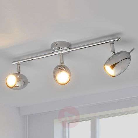 3-bulb LED ceiling lamp Philippa, chrome-plated-9970124-32