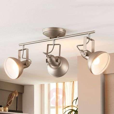 3-bulb retro LED ceiling lamp Tameo