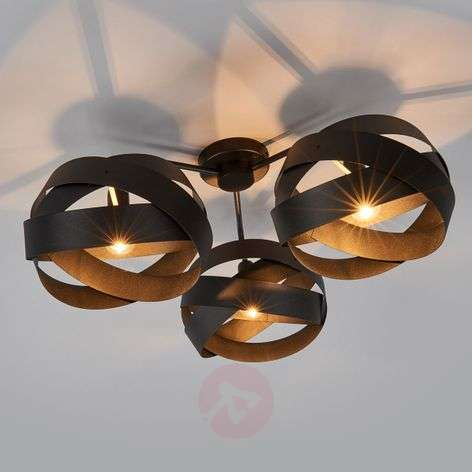 3-bulb Tornado ceiling light