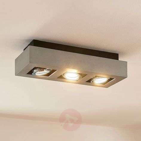 3-bulb Vince LED ceiling light