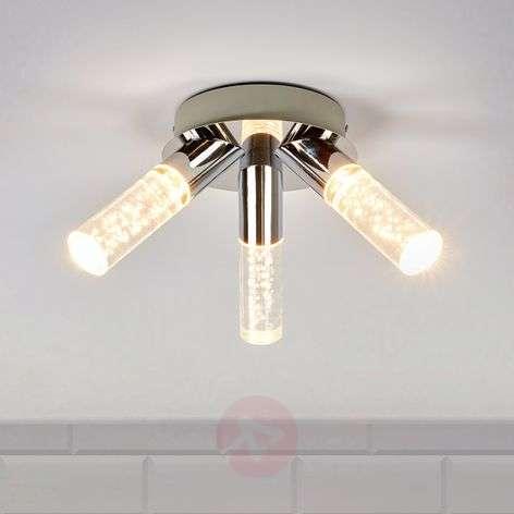 3-light Duncan bathroom ceiling light, LED