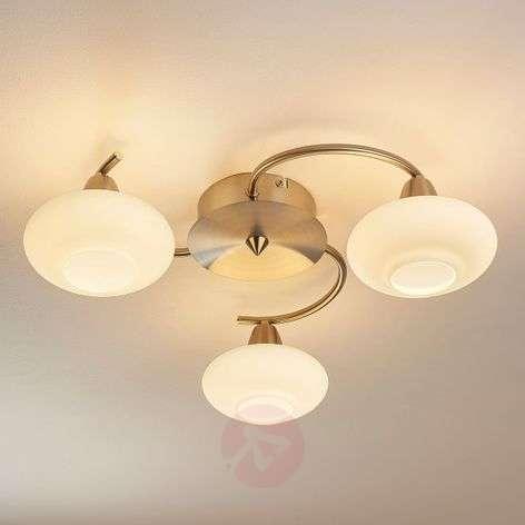 3-light LED ceiling light Espen, matt nickel-9620546-32