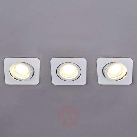 3 piece LED spotlight set Lisara in white-9950352-31