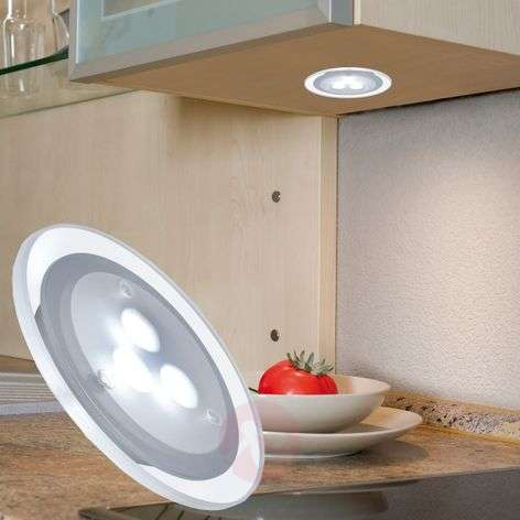 3 piece set LED recessed light Micro Line, clear