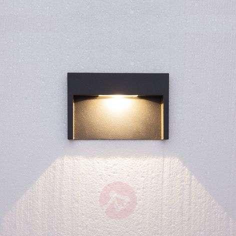 3 W LED wall light fixture Mitja, IP65