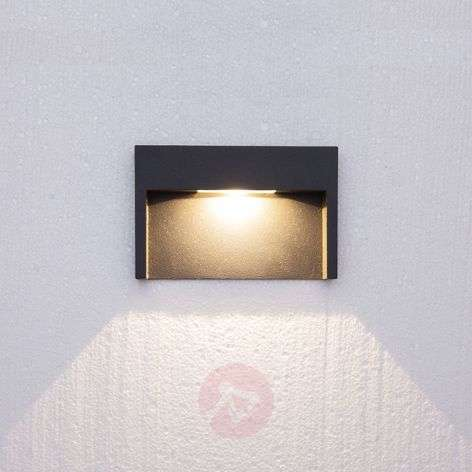 3 W LED wall light fixture Mitja, IP65-9616003-31