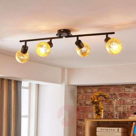 4-bulb country house ceiling light Julien