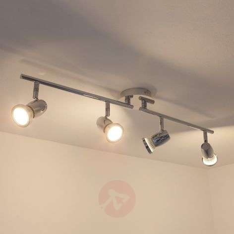 4-bulb GU10 LED ceiling lamp Arminius